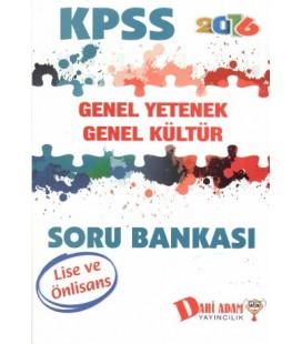 KPSS Lise Ön Lisans Genel Yetenek Genel Kültür Soru Bankası Dahi Adam