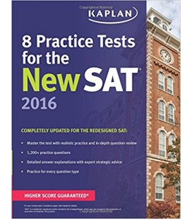 Kaplan 8 Practice Tests for the New SAT 2016