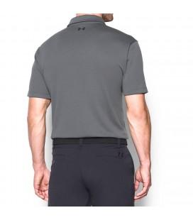 Under Armour Shirts: Men's Tech All Season  Graphite Polo Shirt 1290140 040