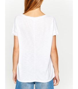 Koton V Yaka T-Shirt 8KAK13245QK000
