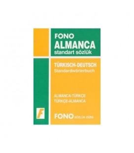 Almanca Standart Sözlük Fono Yayınları