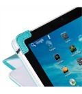 "Eye-Q EQ-LTAB7TRQ 7"" Turkuaz Suni Deri Universal Tablet Kılıfı"