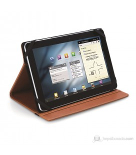 """Eye-Q EQ-UTABPUBR10 10"""" Termo Deri Taba Universal Tablet Kılıfı"""