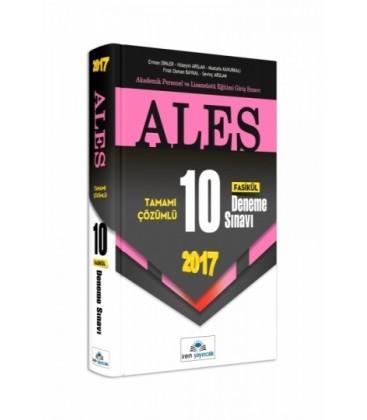 ALES Tamamı Çözümlü 10 Fasikül Deneme Sınavı 2017