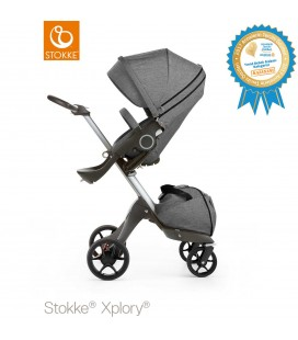Stokke Xplory V5 Bebek Arabası 468104 Siyah