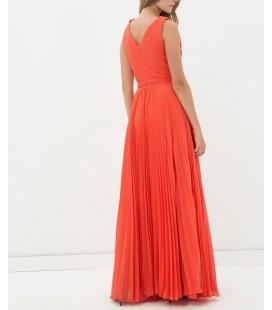 Koton Bayan Elbise V Yaka, Kısa Kollu Elbise  6YAK84863DW 200