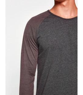 Koton Uzun Kollu T-Shirt  8KAM12469LK 045