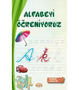 Alfabeyi Öğreniyoruz Silgili Tahta Kalemi Hediyeli