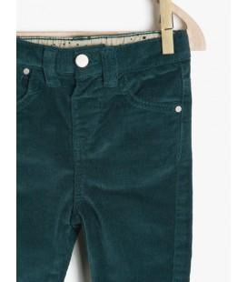 Koton Bebek Pantolonu Yeşil 7KMG47531OW660