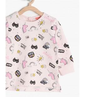 Koton Bebek T-shirt 7KMG17225AKA04