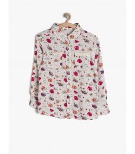 Koton Kız Çocuk Gömlek 7KKG67939AW03E