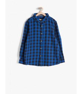 Koton Çocuk Kareli Gömlek 7KKB66146GW02P