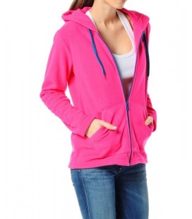 Hummel Bayan Sweatshirt T36651-3650 South Zip Hoodie
