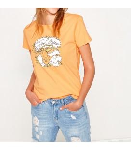 Koton Rahat Kesim,Kısa Kollu,Desenli T-Shirt  7YAL11384JK240