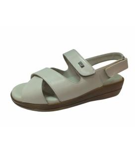 Ceyo Bayan  Ortopedik Sandalet - Bej - 9863-12
