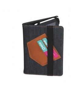 """EyeQ EQ-UTAB7501 7"""" Universal Tablet Case Cover denim"""