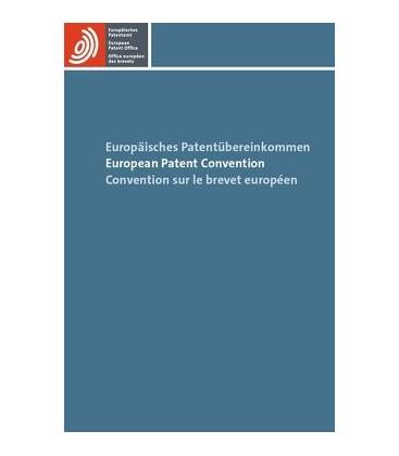 Europäisches Patentübereinkommen / European Patent Convention / Convention sur le brevet européen - Avrupa Patent Konvansiyonu