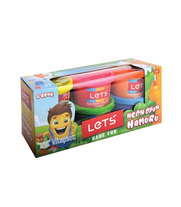 Lets 6 Renk Oyun Hamuru L8346