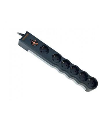 Tunçmatik Enerji Koruma Prizi Powersurge 6'lı 3 Metre Siyah 350 Joule (TSK6058)