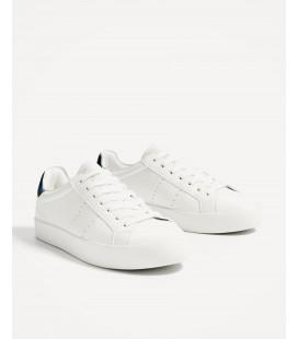 6085cdf8da2 Zara Beyaz Spor Unisex Ayakkabı 2708 201 001 ...