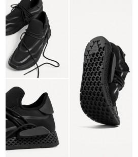 bad5f0f2554 Zara Men Black Sneakers Ayakkabı 2435 202 040 ...