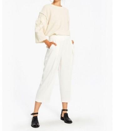 Twist Ekru Beyaz Pantolon TW6160003066
