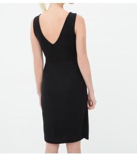 Koton Degaje Yakalı, Rahat Kesim, Kolsuz Mini Elbise  6KAK84121SK999