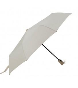 Pierre Cardin PC236 Kauçuk Abs Saplı Krem Düğmeli Otomatik Şemsiye