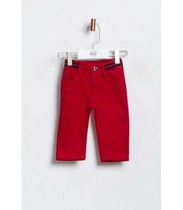 BG Baby Erkek Bebek Kırmızı Pantolon 3636BBG1221