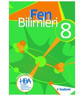 8. Sınıf Hepsi Bir Arada Fen Bilimleri Konu Anlatımlı Tudem Yayınları