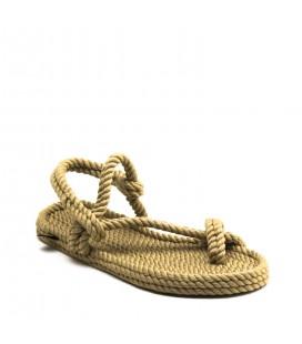 Nomadic Republic Hawaii Bej Kadın İp Sandalet D09ZD003_D09001