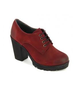City Life Kadın Bordo Deri Ayakkabı 4887010514300