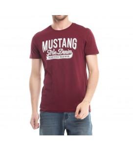 Mustang Erkek Tişört  6582-1603-887 Bordo