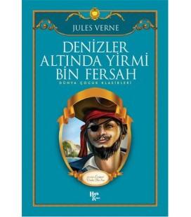Denizler Altında Yirmi Bin Fersah - Jules Verne - Halk Kitabevi