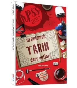 2017 KPSS Uygulamalı Tarih Ders Notları Yediiklim Yayınları