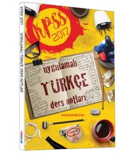 2017 KPSS Türkçe Uygulamalı Ders Notları Yediiklim Yayınları
