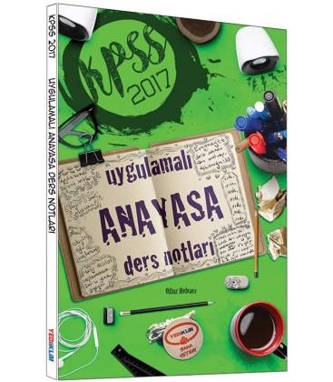 KPSS 2017 Uygulamalı Anayasa Ders Notları Yediiklim Yayınları