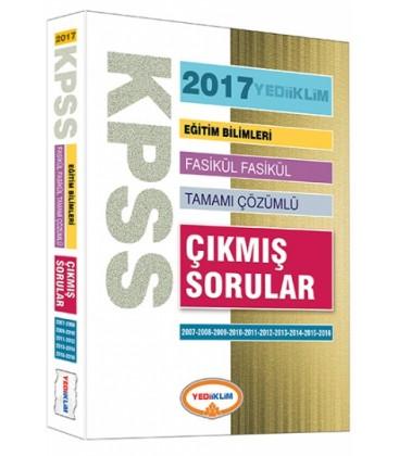 2017 KPSS Eğitim Bilimleri 2007-2016 Tamamı Çözümlü Fasikül Çıkmış Sorular Yediiklim Yayınları