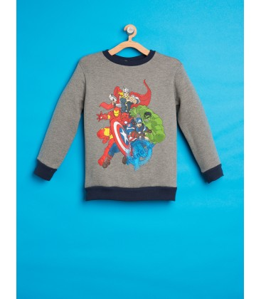 Koton Marvel Avenger Baskılı Sweatshirt 8KKB16447OK023