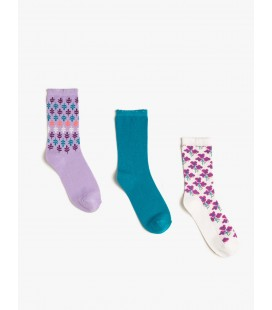 Koton Bayan 3'lü Çorap  8KAK81019AA372