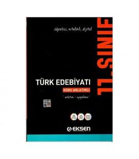 Eksen Yayınları 11. Sınıf Türk Edebiyatı Konu Anlatımlı
