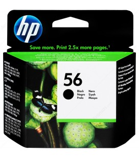 Original HP 56 black ink cartridge C6656A Cartridge