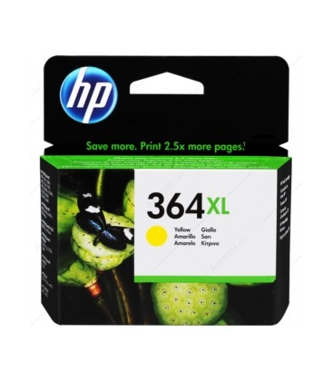 HP 364xl Yellow (Yellow) Cartridge CB325EE