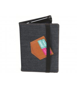 "Eye-q EQ-UTAB10501 10.2"" denim Tablet Case Cover Universal"