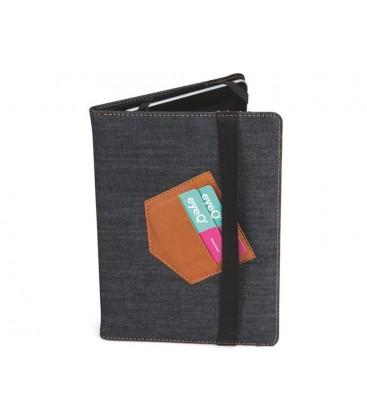 """Eye-q EQ-UTAB10501 10.2"""" denim Tablet Case Cover Universal"""