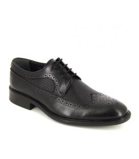 Erkek Siyah Deri Oxford Ayakkabı 5166083401200