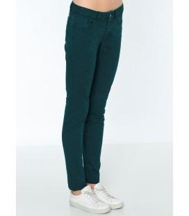 Lee Cooper Kadın Pantolon | Amy - Skinny 171 LCF 221004 Yeşil