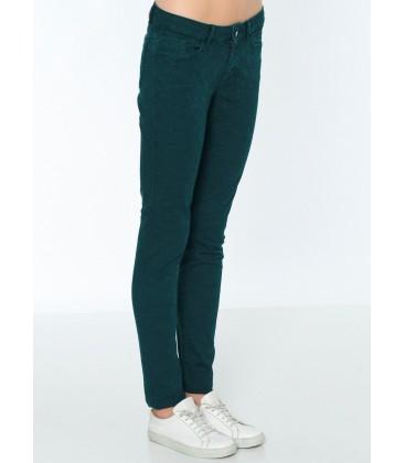 Lee Cooper Kadın Pantolon   Amy - Skinny 171 LCF 221004 Yeşil