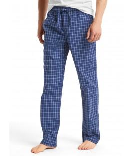 Gap Desenli Pijama 324656 Kareli Lacivert