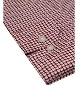 Ds Damat Krımızı Slim Fit Gömlek 6HF02KD50185